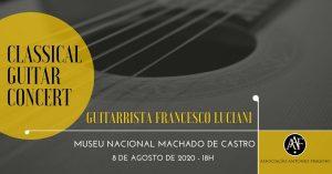 As mais belas músicas para guitarra são para ouvir no Museu Machado de Castro