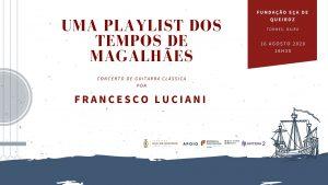 Read more about the article Os 120 anos da morte de Eça de Queiroz celebram-se ao som da guitarra clássica